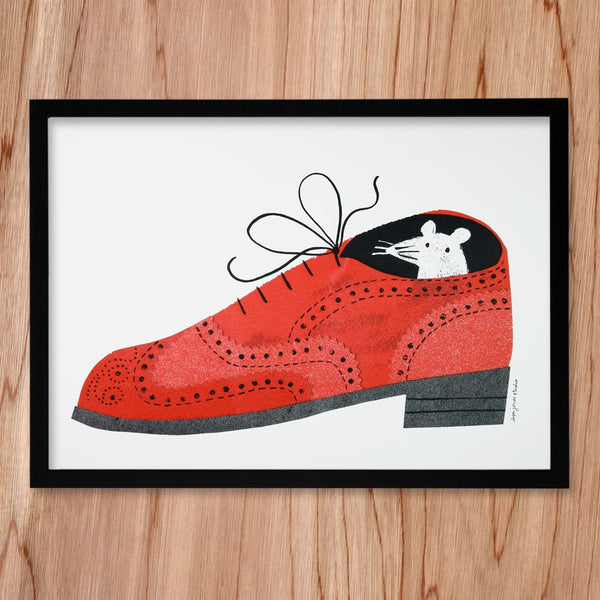 Brogue print by Lisa Jones Studio