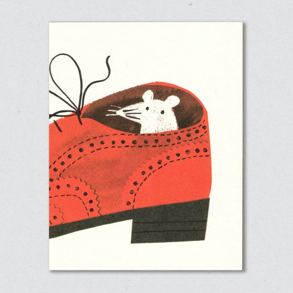 Brogue card by Lisa Jones Studio