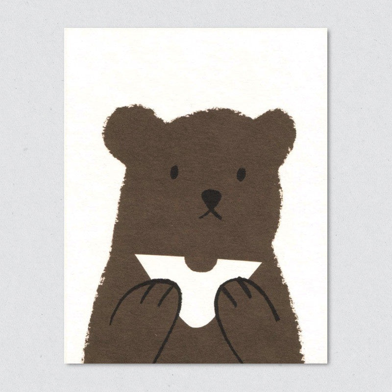 Butty Bear card by Lisa Jones Studio