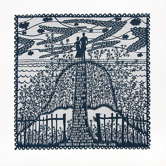 Can We Shall We print by Rob Ryan
