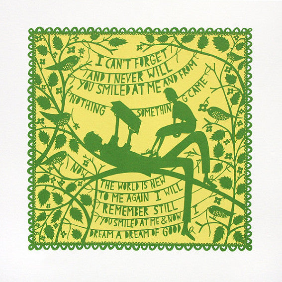 I can't forget print by Rob Ryan