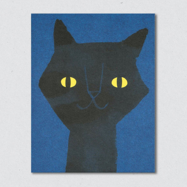 Cat's Eyes card by Lisa Jones Studio