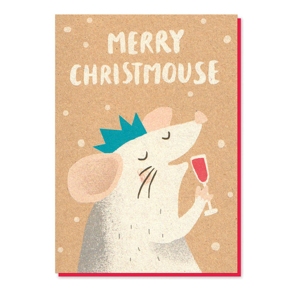 Merry Christmouse Card