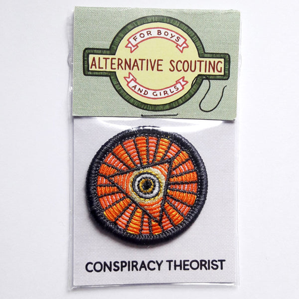 Conspiracy Theorist Patch