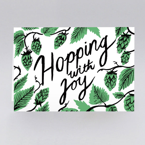 Hopping With Joy Card