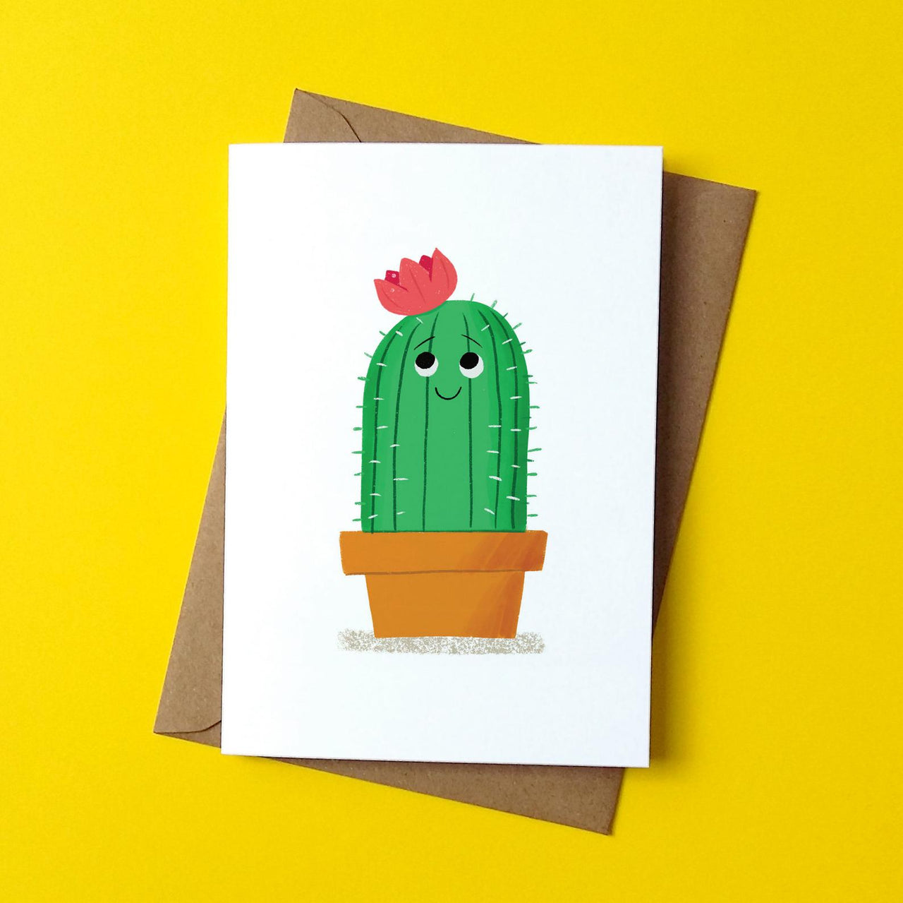 Cute Cactus Card