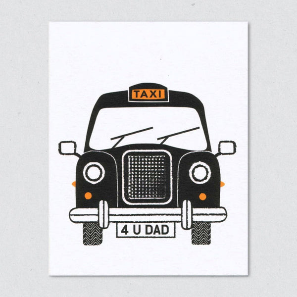 Dad Cab Card