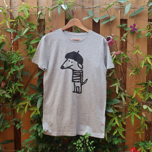 Beret Dog T-shirt - Men S