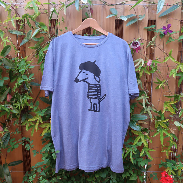 Beret Dog T-shirt - Men XL