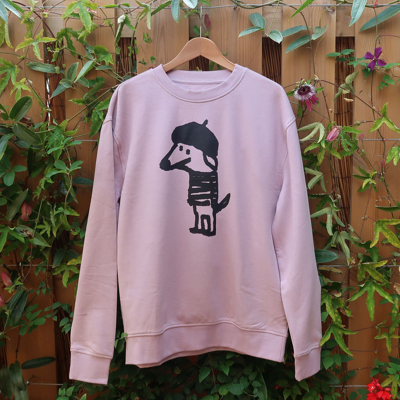 Beret Dog Sweatshirt - Men L