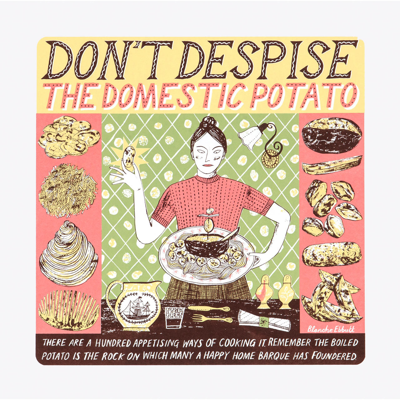 Domestic Potato Print