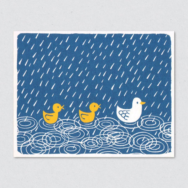 Duck Pond card by Lisa Jones Studio