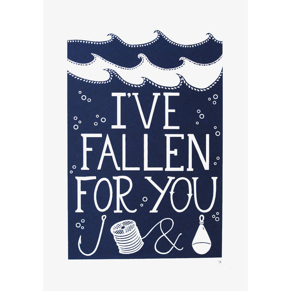 Fallen For You Blue Print