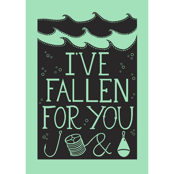 Fallen For You Print