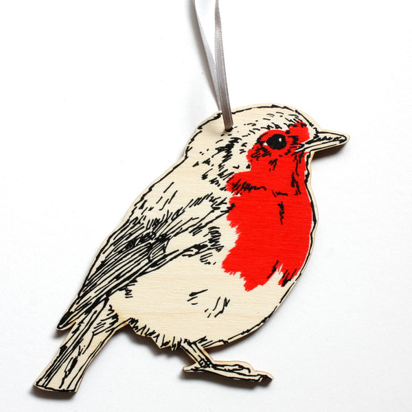 Fat Robin Decoration