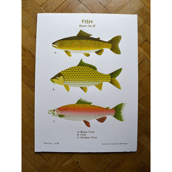Fish print by Tom Frost