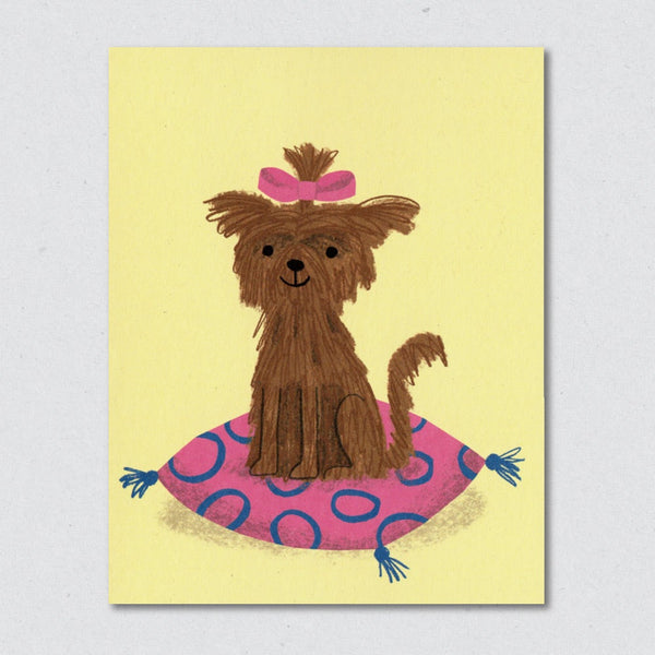 Gloria greeting card by Lisa Jones Studio