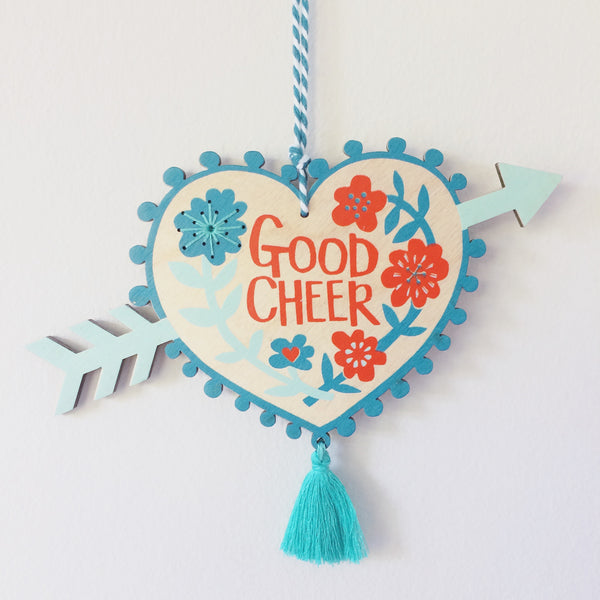 Good Cheer Milagro Charm Blue