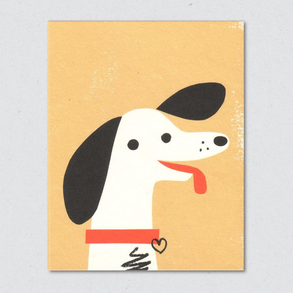 Happy Hound card by Lisa Jones Studio