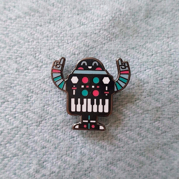 Synthi Party Pin Badge