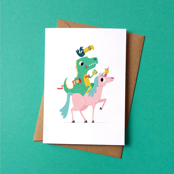 Dinosaur Gang Card