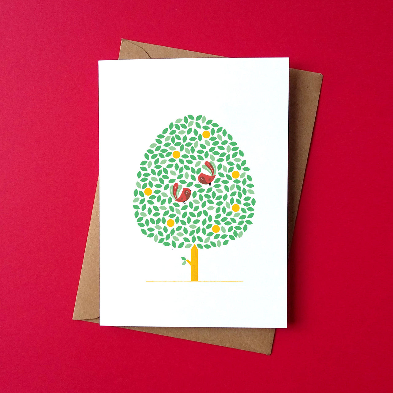 Birds Together Card