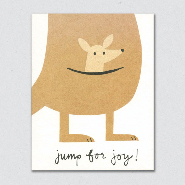 Jump for joy card by Lisa Jones Studio