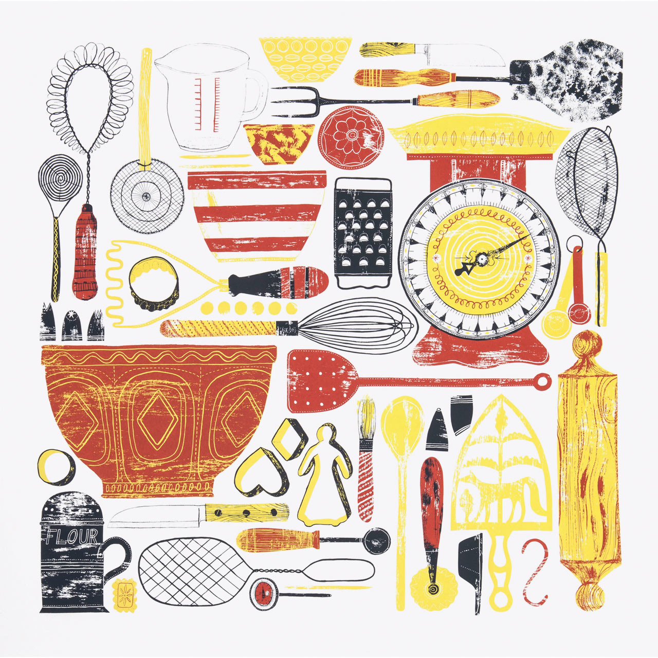 Kitchenalia Print