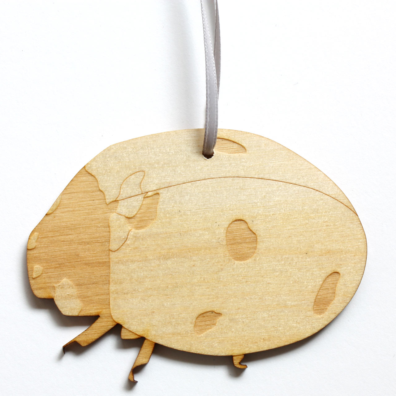 Ladybird Decoration Wood