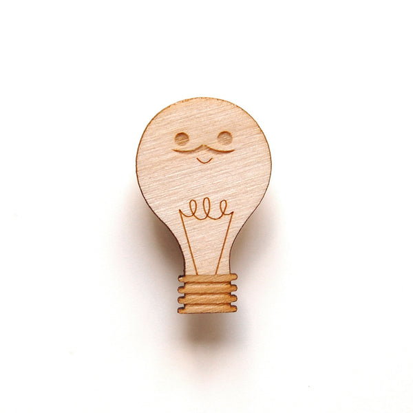 Lightbulb Pin