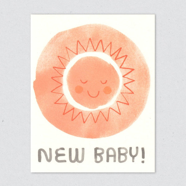 New Baby card by Lisa Jones Studio
