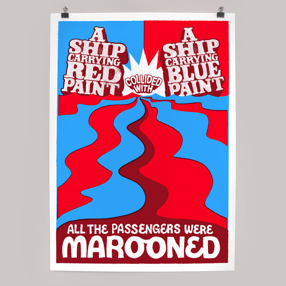 Marooned print by Andy Smith