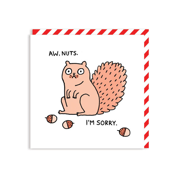 Nuts card by Gemma Correll