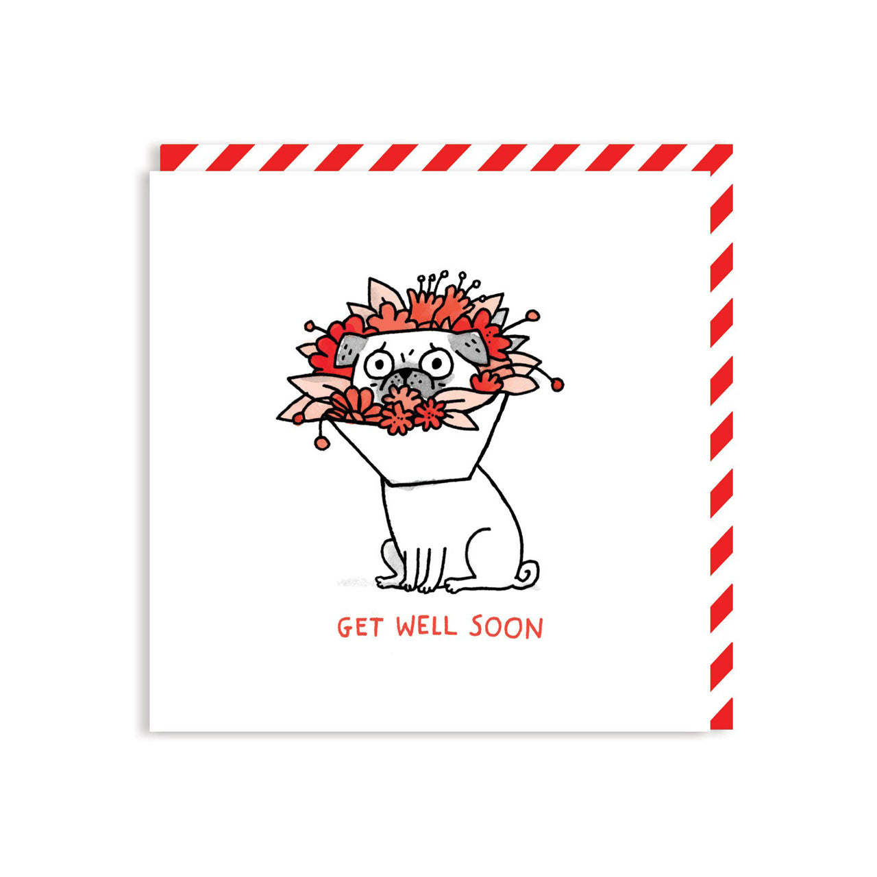 Get Well Soon card by Gemma Correll
