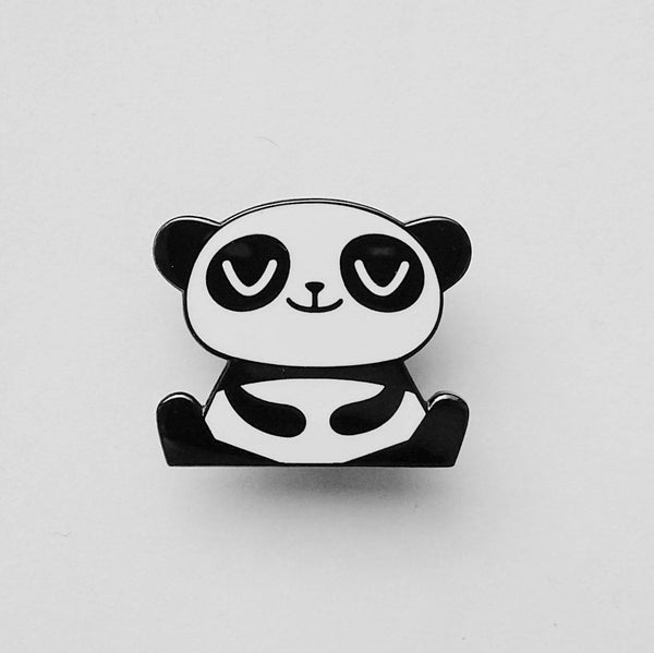 Happy Panda Pin