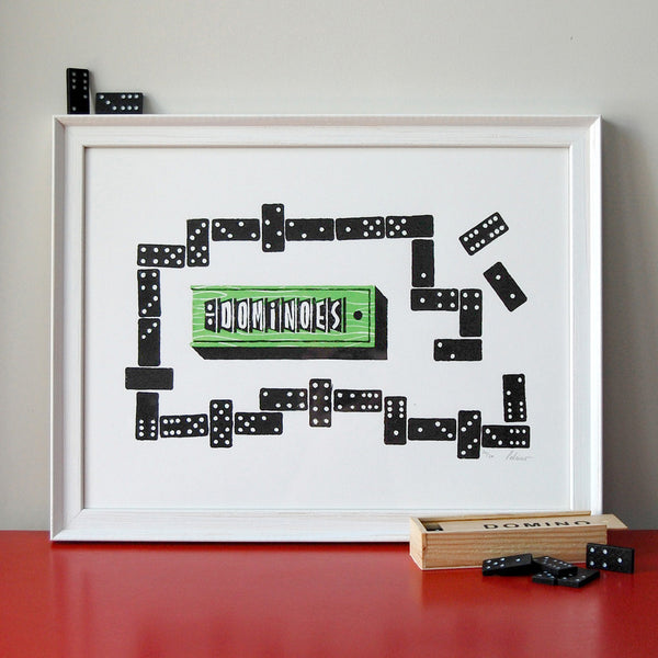 Dominoes Print
