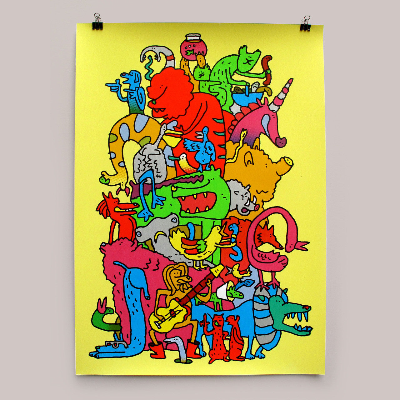 Pile Up print by Andy Smith