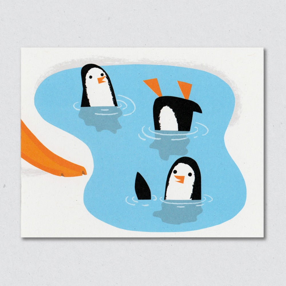 Pool Party greeting card by Lisa Jones Studio
