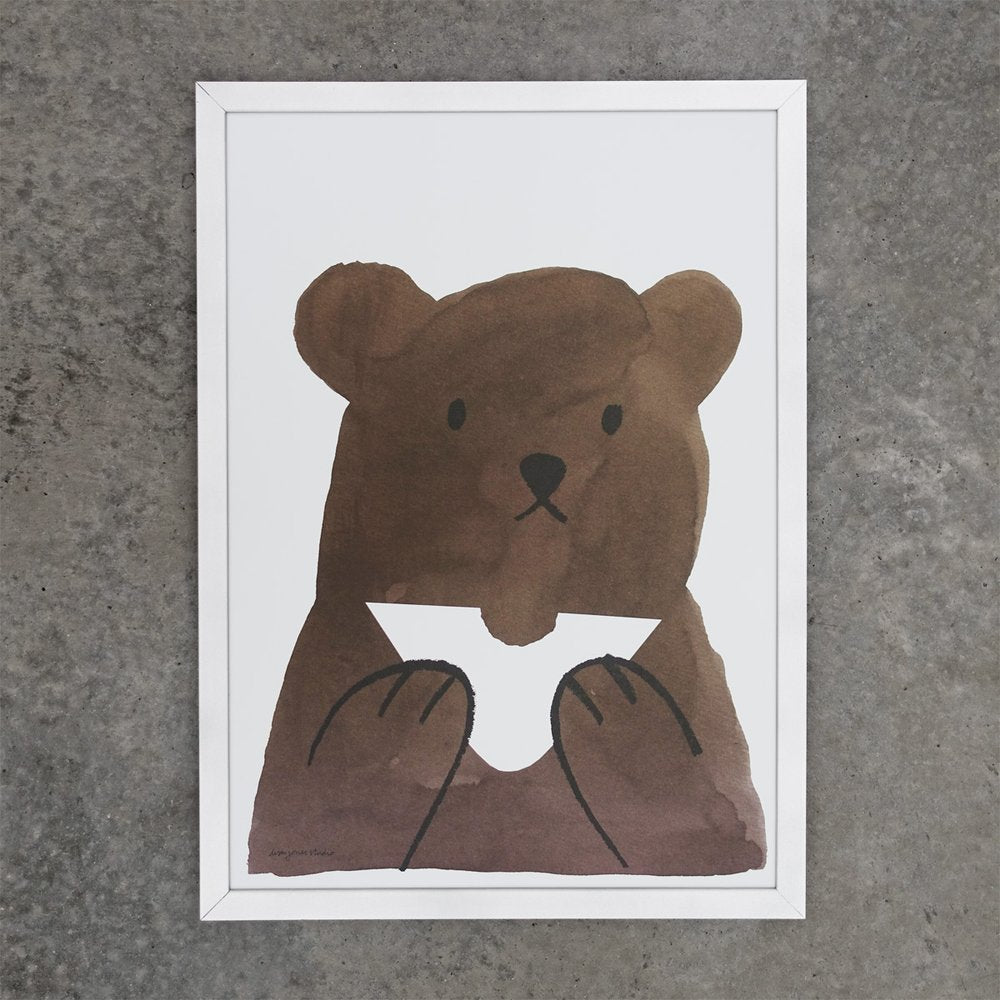 Butty Bear Print