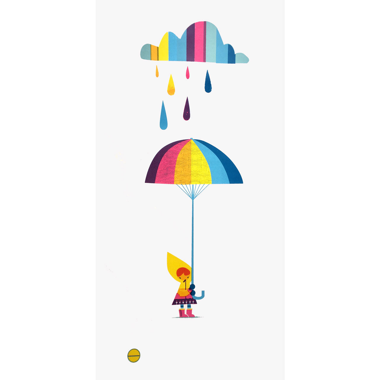 Rainy Day Optimist Print
