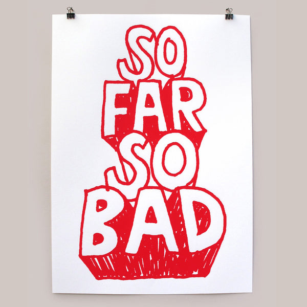 So Far print by Andy Smith