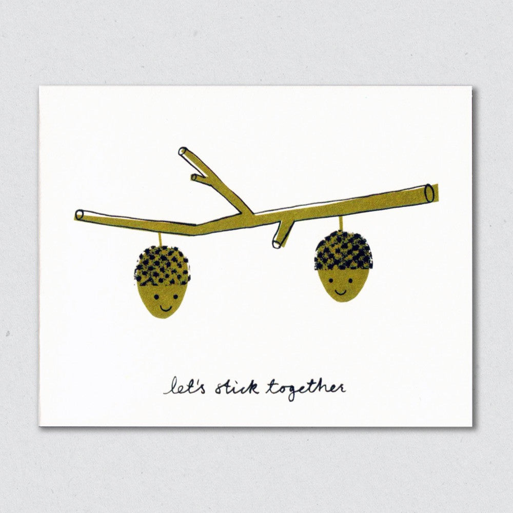Stick Together card by Lisa Jones Studio
