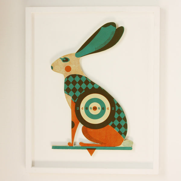 3D Hare Target