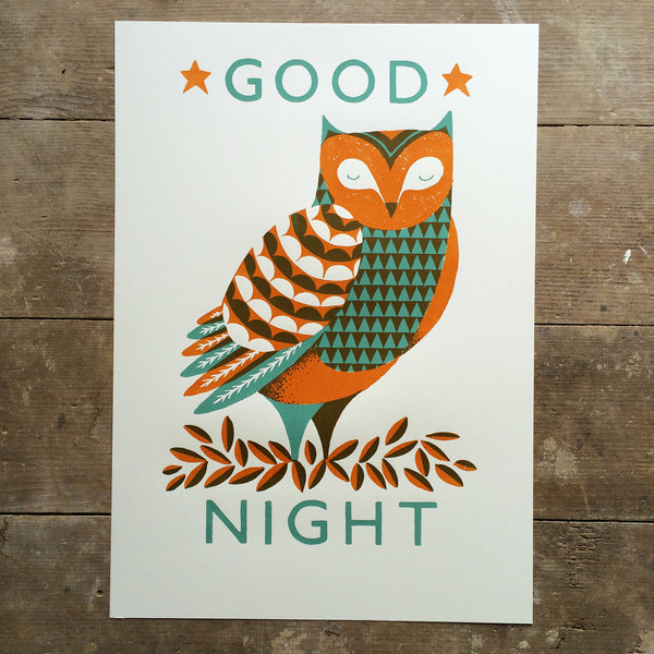 Good Night Print
