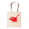 Cat Red Tote