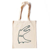 Crocodile Stands Natural Tote