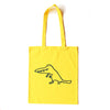 Crocodile Walk Yellow Tote