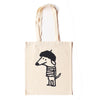 Beret Dog Natural Tote