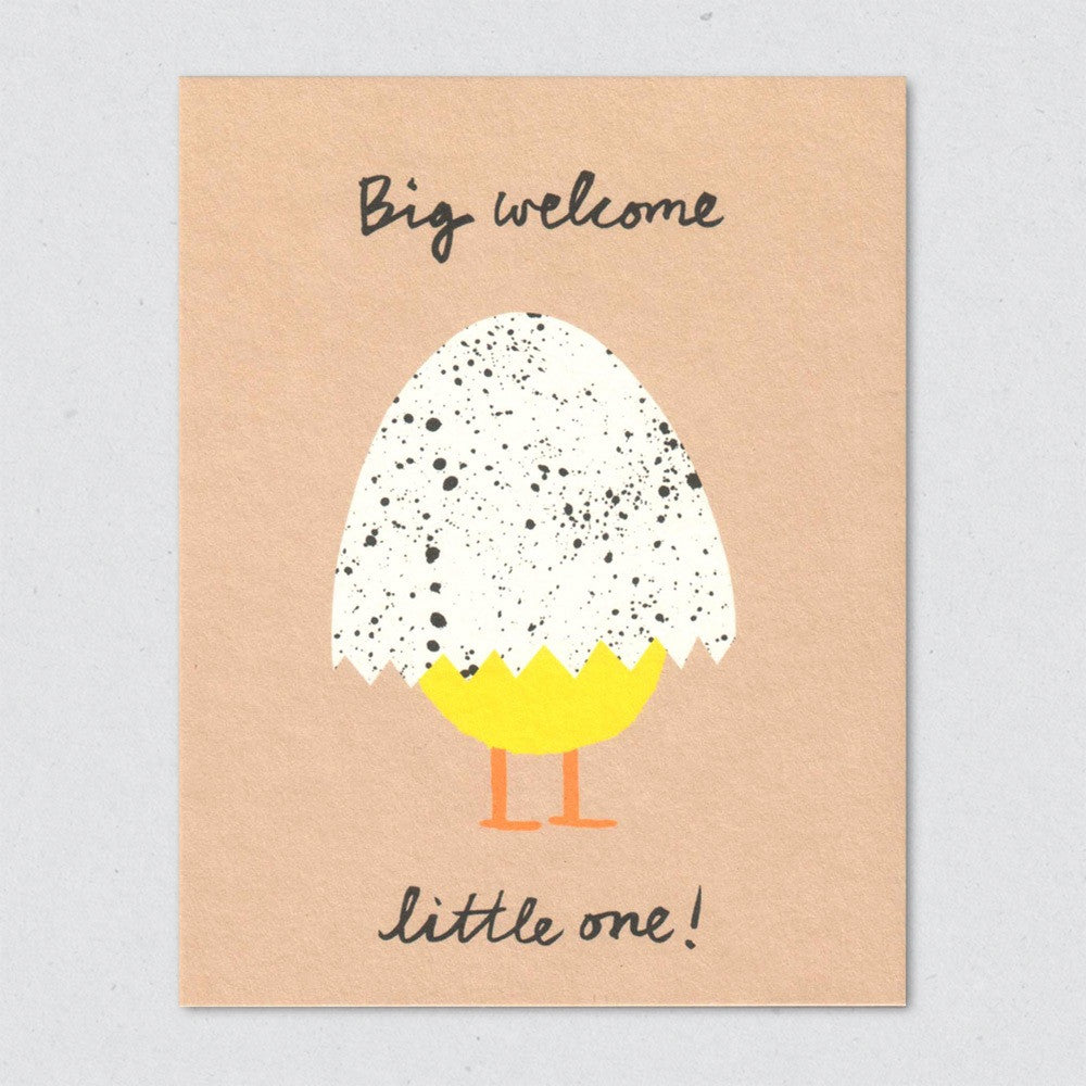 Big Welcome card by Lisa Jones Studio