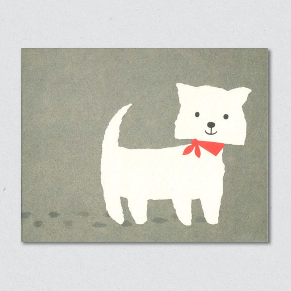 Terrier card by Lisa Jones Studio